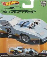 2019 Hot Wheels Car Culture Silhouttes - '76 Greenwood Corvette 1/64 Diecast Car