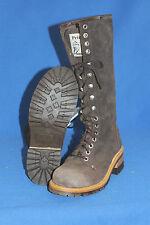 Prime Boots logger  worker  damen schnürrer  hoch stiefel gr. 38  leder
