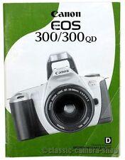 Canon ISTRUZIONI CANON EOS 300/300qd date User Manual (x2562