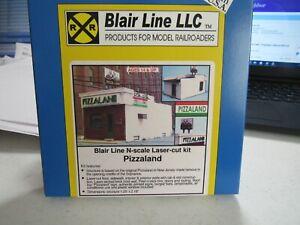 Blair Line N Scale PizzaLand  Sopranos Bada Bing  Kit  #096   Bob The Train Guy