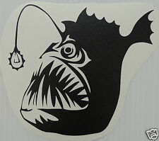 Angler Fish Sticker/Decal windsurfing/kitesurfing/s urfing use