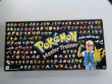 Pokemon Master Trainer Board Game ~ Unpunched Chips ~ No Ash Movers