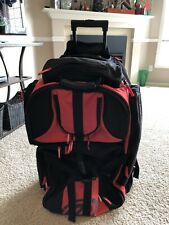 Evil Large Paintball Roller Gear Bag - Black/Red - Used