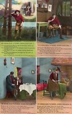 More details for set 4 bamforth song cards i'm coming back to bonnie scotland  pcs unused  aj649