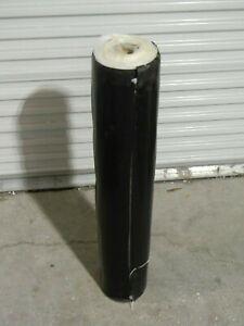 "50 Ft. Roll of Reinforced Black SBR Rubber Sheet 36"" Width x 1/16"" Thickness"