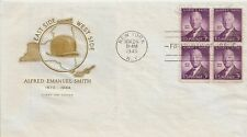 LETTRE LETTER PREMIER JOUR FIRST DAY ALFRED EMANUEL SMITH NEW YORK 1945