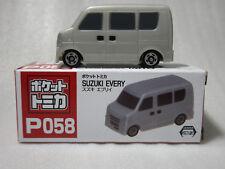 SUZUKI EVERY Grey Pocket Tomica P058 Tomy Taito NIB