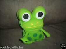 BRIO PLUSH DOLL FIGURE WOODEN RAILROAD FROGSTER ZIPPERED POUCH TRAIN CAR HOLDER