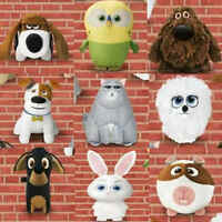McDonalds Happy Meal Toy 2016 Secret Life Of Pets Movie Plush Toys - Various