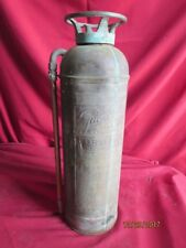 Antique Vintage Brass Copper Guardene Pyrene Mnfg. New York Fire Extinguisher