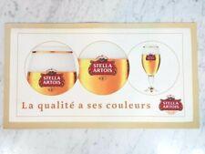 STELLA ARTOIS Beer Collector Rubber Back Bar Runner Spill Mat