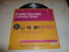 "PUBLIC DOMAIN - Operation Blade - UK 2-track 12"" Vinyl Single"