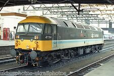British Rail Class 47 47704 Carlisle 15/05/85 Rail Photo