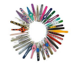 Beauty Eyebrow Tweezers Tweezer Funky Colours