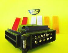 LED 12 Pin Plug  Blue Flashing Led for ELE Brake Circuits with 6 Reflectors
