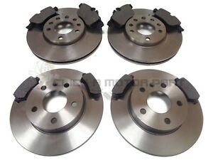 VAUXHALL ASTRA H MK5 1.6 16V SXi SRi 05-10 FRONT & REAR BRAKE DISCS AND PADS NEW