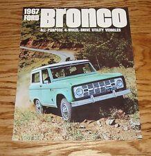 1967 Ford Bronco All-Purpose 4-Wheel-Drive Sales Brochure 67