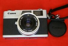 Film camera Canon Canonet 28 Vintage Rangefinder, Working Film Camera - VG Condi