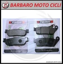 KIT 2 COPPIE PASTIGLIE FRENO FERODO ANT + POST YAMAHA X MAX XMAX X-MAX 250 2010