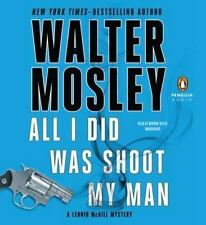 Leonid McGill Myst: All I Did Shoot My Man Bk. 4-Walter Mosley (2012, CD Unabr)