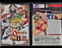 Queen's Blade: Beautiful Warriors - Complete OVA Collection-Brand New 2-Disc Set