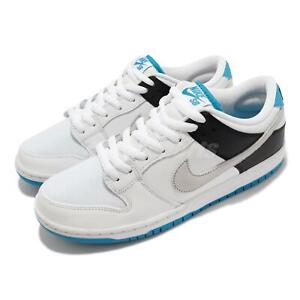 Nike SB Dunk Low PRO Laser Blue White Grey Men Skate Boarding Shoes BQ6817-101
