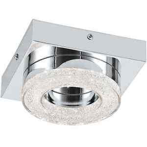 Ceiling LED Spotlight 4W Chrome With Crystal Round Coll. Glo 95662 Fradelo
