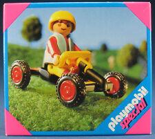 PLAYMOBIL SPECIAL 4510-Ragazzo con Go Cart-GO CART RACER-NUOVO & OVP-NEW MISB