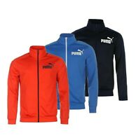 Mens Puma Full Zip Mock Neck Long Sleeves Track Jacket Sizes from S to XXL