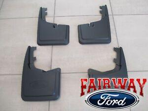 2021 F-150 OEM Genuine Ford Molded Splash Guards Mud Flaps NEW