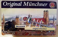 Original Munchner Semi Tractor & Trailer Paulaner Munchner by Hummer Germany