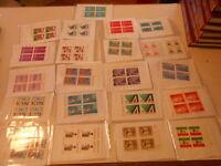 Francobolli stamps QUARTINA FRANCOBOLLI -ITALIA-VATICANO-AVANTI E DIETRO (2)