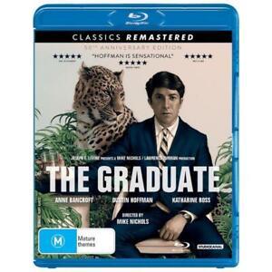 The Graduate (Classics Remastered) Blu-Ray **Region B**