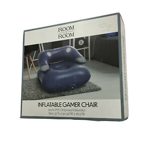 INFLATABLE CHAIR GAMING GIFT IDEA GAMING TEEN/KIDS ROOM DECOR HOME GAMER CHAIR
