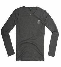 Polo Ralph Lauren Damen Langarm Shirt Longsleeve grau Größe S
