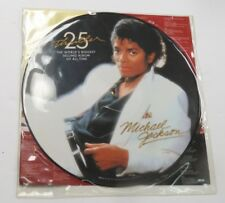 MICHAEL JACKSON - THRILLER 25TH ANNIVERSARY PICTURE VINYL RECORD LP