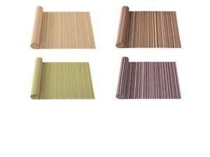 Bambus Tischläufer 40 x 150 cm Bambustischdecke Tischdecke Bambusmatte
