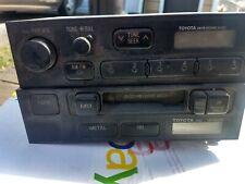 Toyota OEM AM/FM radio cassette player Truck 1989-94  2 pcs.