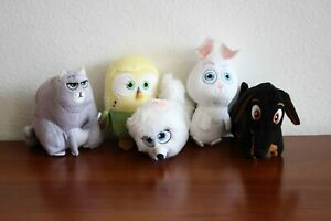 The secret life of pets /collection of plush toys/ 3''