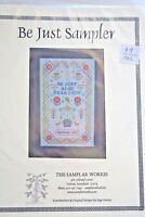 The Samplar Workes Be Just Sampler Page Dorsey Counted Cross Stitch Chart
