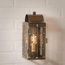 CAPECOD new weathered brass outdoor wall sconce lantern light / nice