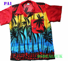 Hawaiian Shirt Beach Party Boys Girls Kids Children palm tree Party Fancy dress