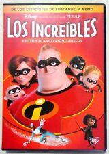 Los increibles de Walt Disney - Pixar edicion especial 2 discos DVD buen estado