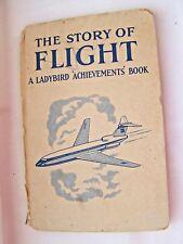 BOOK, LADYBIRD, THE STORY OF FLIGHT, AEROPLANES, CHILDREN'S, VINTAGE