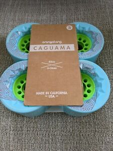Orangatang Caguama Longboard Wheels Blue 85mm 77A