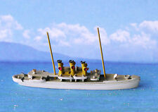 Miniature model ship Drott M 227, cruiser of King Oscar II of Sweden 1800s