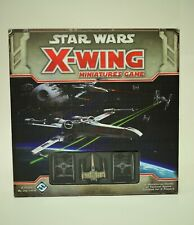 Boxed STAR WARS X-Wing Miniatures Game Core Set | COMPLETE Game