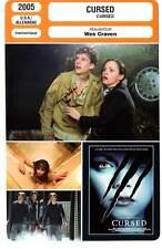 FICHE CINEMA : CURSED - C.Ricci,J.Jackson,Wes Craven 2005
