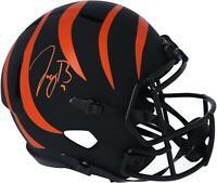 Joe Burrow Cincinnati Bengals Signed Eclipse Alternate Speed Replica Helmet
