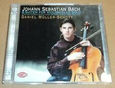 Daniel Muller-Schott Bach 6 Suites For Solo Cello 2 CD German Import 6 Suiten